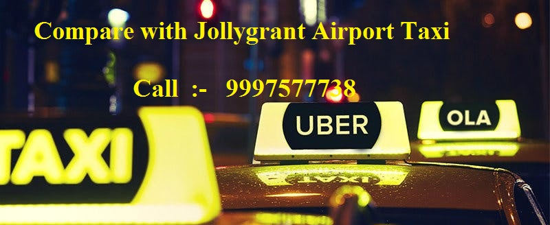 Compare Ola and Uber with Jollygrant Airport Taxi